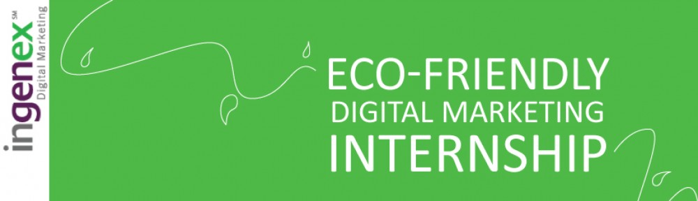 Eco-Friendly Digital Marketing Internship